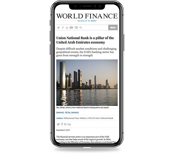 World Finance - Media Coverage Package
