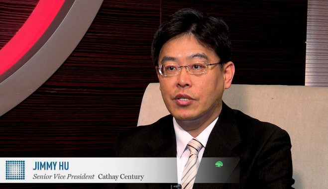 World Finance interviews Jimmy Hu, Senior Vice President of Cathay Century, on expanding its property and casualty insurance outside of Taiwan and into the rest of Chinese-speaking Asia