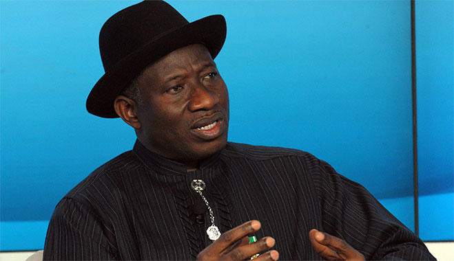 Nigeria's President Goodluck Ebele Jonathan was one of the five panelists today at WEF in Davos who discussed what to do about Africa's rapidly growing population