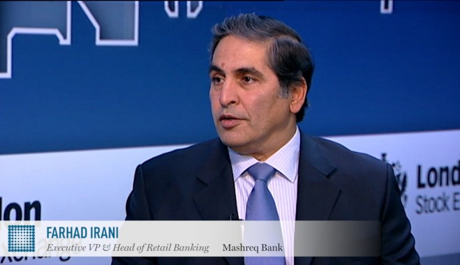 Farhad Irani On Banking In The Uae Mashreq Bank Video