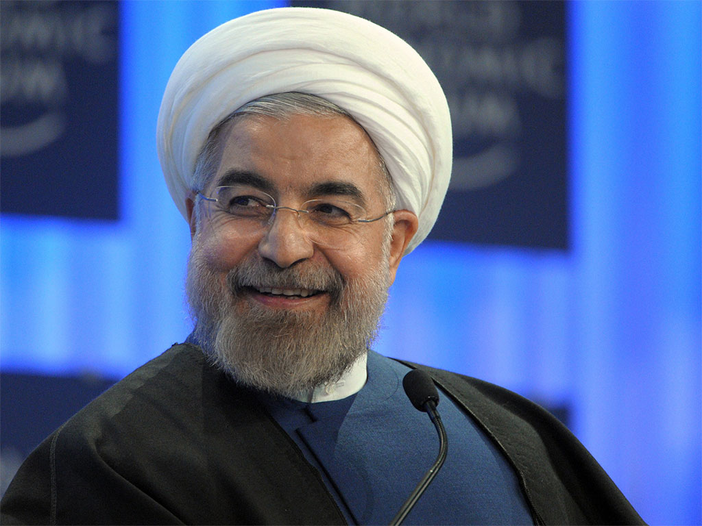 Iran's President Hassan Rouhani made it clear at the WEF meeting in Davos today that the country is keen to build relationships worldwide