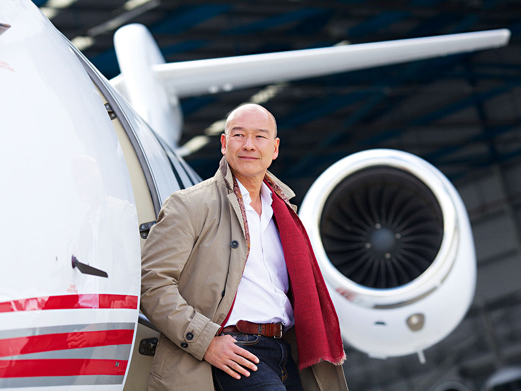 Clive Jackson, a serial entrepreneur and CEO of private aviation company, Victor. Jackson decided to set up the company after becoming frustrated with a flight cancellation while travelling to Mallorca