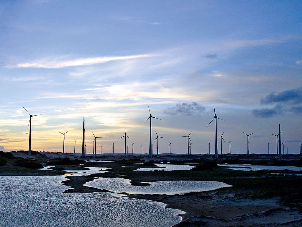 An Iberdrola wind farm at Rio do Fogo, Brazil: the electricity company has an impressive focus on corporate governance