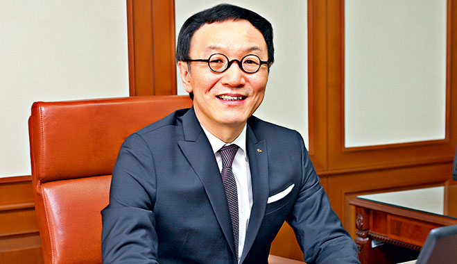 Lee Kun Ho, President and CEO of KB Kookmin Bank