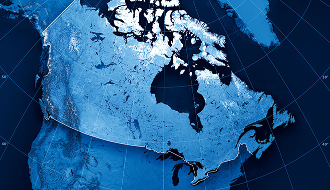 Canada-arctic-border
