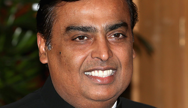 Mukesh Ambani's fortune may have declined along with India's economy, but the country's richest man is still a billionaire and doesn't look to wind back any of his businesses any time soon