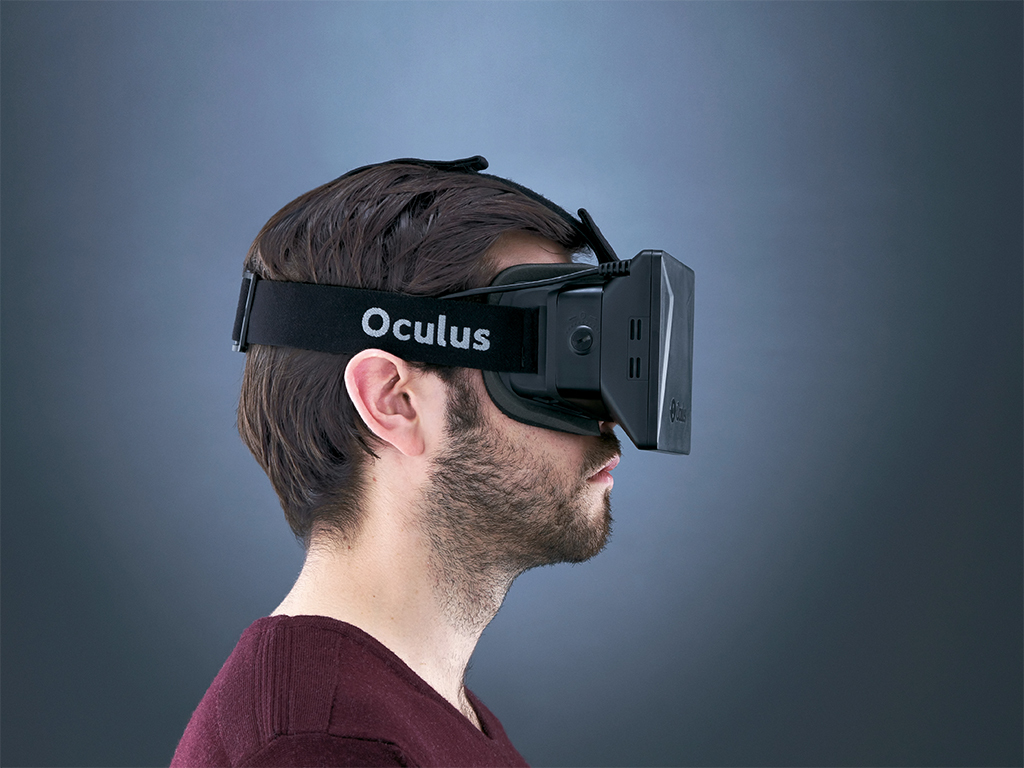 The famous Oculus Rift virtual reality mask: Facebook is to acquire the gaming startup for a whopping $2bn