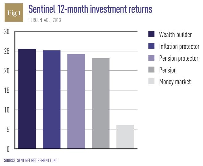 Sentinel-Retirement-Fund-12-month-investment-returns