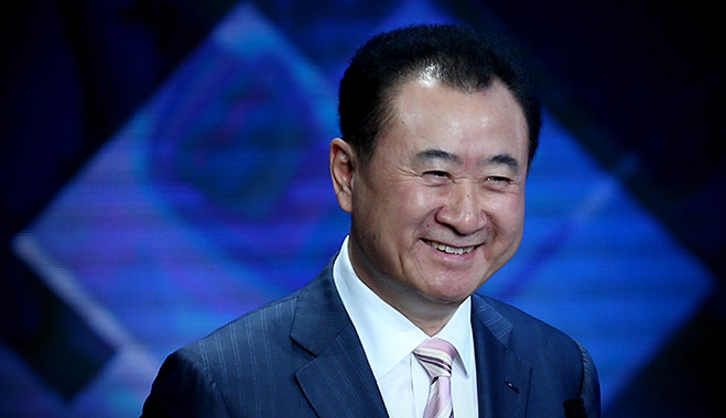 Wang Jianlin, Chairman of Dalian Wanda Group, is China's richest man