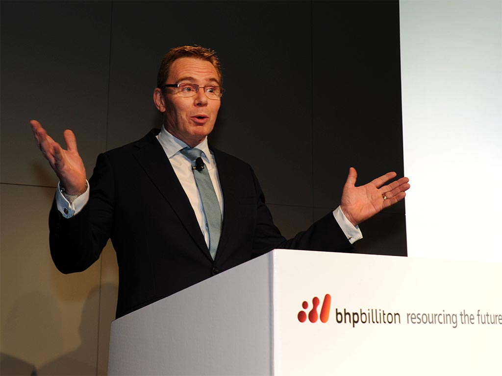 BHP's new chief executive Andrew Mackenzie. Mackenzie is keen to simplify the global resources company, and focus business on iron ore, copper, coal and petroleum assets