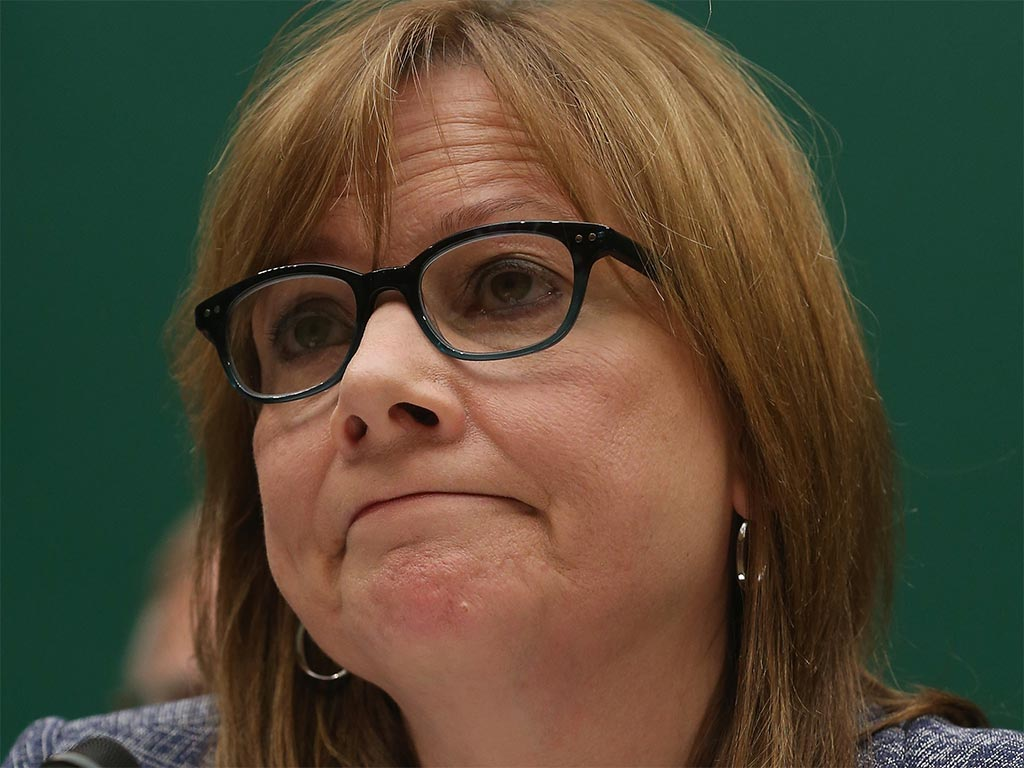 GM's chief executive Mary Barra has apologised for the company failing to rectify a switch defect in its vehicles that has been linked to 13 deaths
