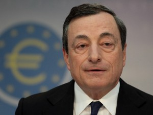 ECB President Mario Draghi confirmed that the bank is to maintain its record low interest rates. IMF head Christine Lagarde has warned that Europe's recovery is likely to take longer with inflation at its current low rate, but Draghi emphasised that the bank and IMF's thinking is very different
