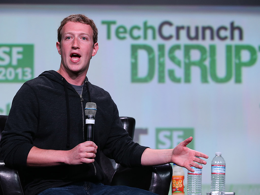 CEO Mark Zuckerberg describes Facebook's purchasing of thriving young brands 'acquiring talent', though others have suggested he's simply eliminating the competition