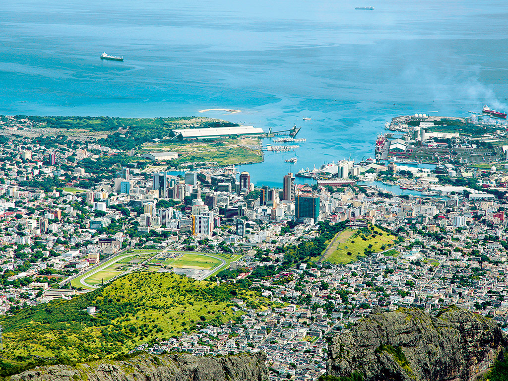 Port Louis, capital of Mauritius – one of many locations known as 'tax havens', which traditionally have provided a safe place to store wealth offshore