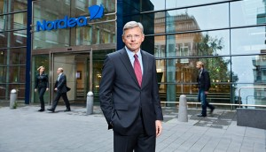 Christian Clausen, CEO of Nordea. 'Nordea has been a stabilising force', said Clausen, when asked about how the bank has contributed to the growth of financial markets
