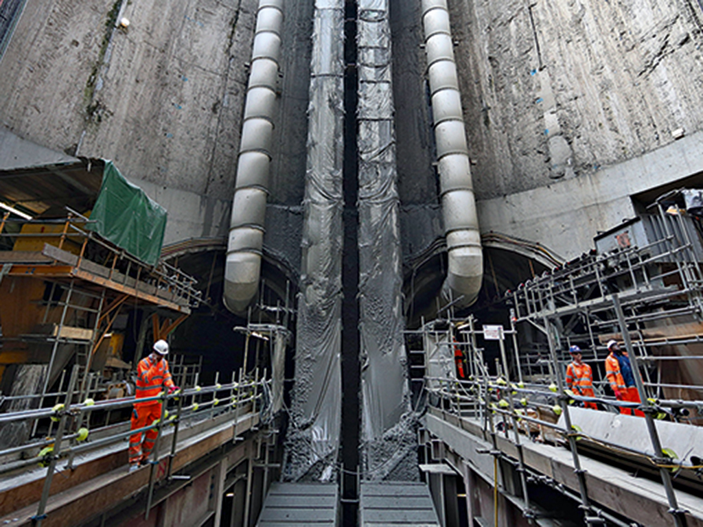 London's Crossrail is the largest transport and infrastructure project in Europe, but took 60 years to get government approval