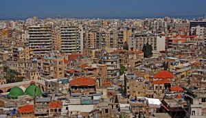 A view over Lebanon. Institutions such as BankMed have significantly enhanced the country's economic progress