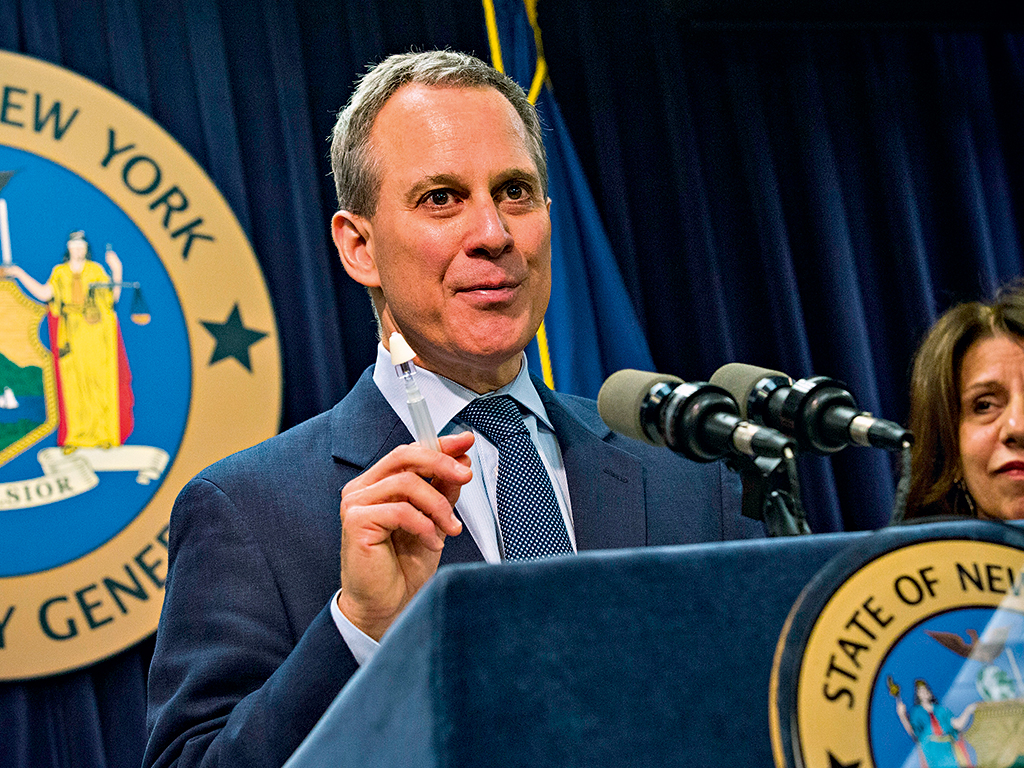 New York State Attorney, General Eric Schneiderman, who accused Barclays of expanding its dark pool activities in order to boost revenues. Barclays has since contested the claim