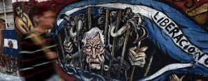 Vulture Graffitti in Argentina