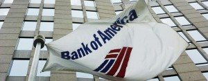 Bank of America flag