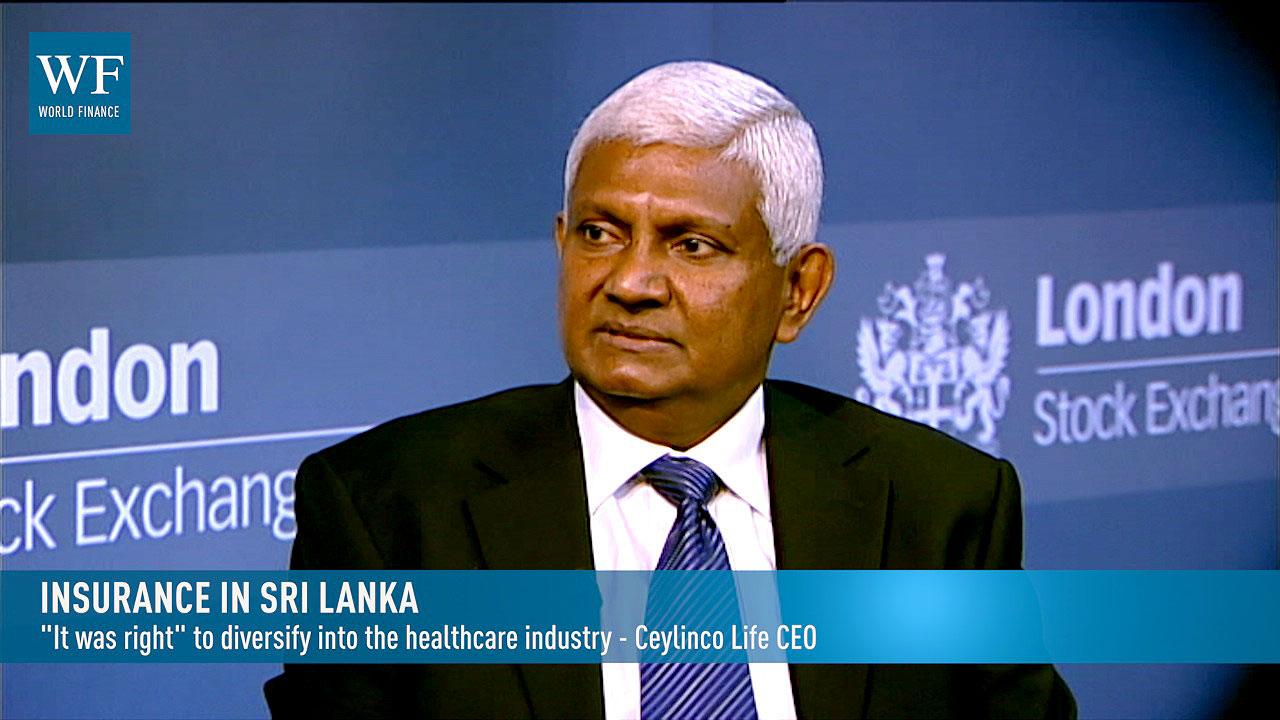 Rajkumar Renganathan, CEO of Ceylinco Life