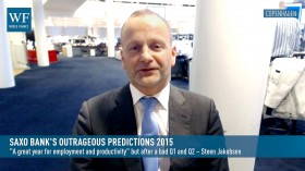 World Finance speaks to Saxo Bank's Chief Economist, Steen Jakobsen, to discuss the bank's predictions for the year