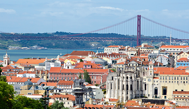 A view over Lisbon, Portugal, where Dif Broker is based. The portfolio manager believes that transparency is essential when working with clients