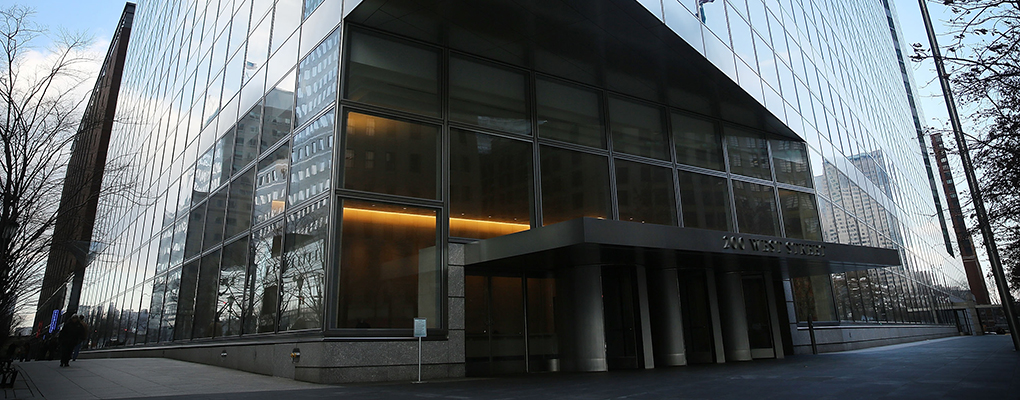 Goldman Sachs Manhattan offices. The bank has recently invested in Singapore-based data analytics start-up Antuit, in an effort to expand its Asian presence