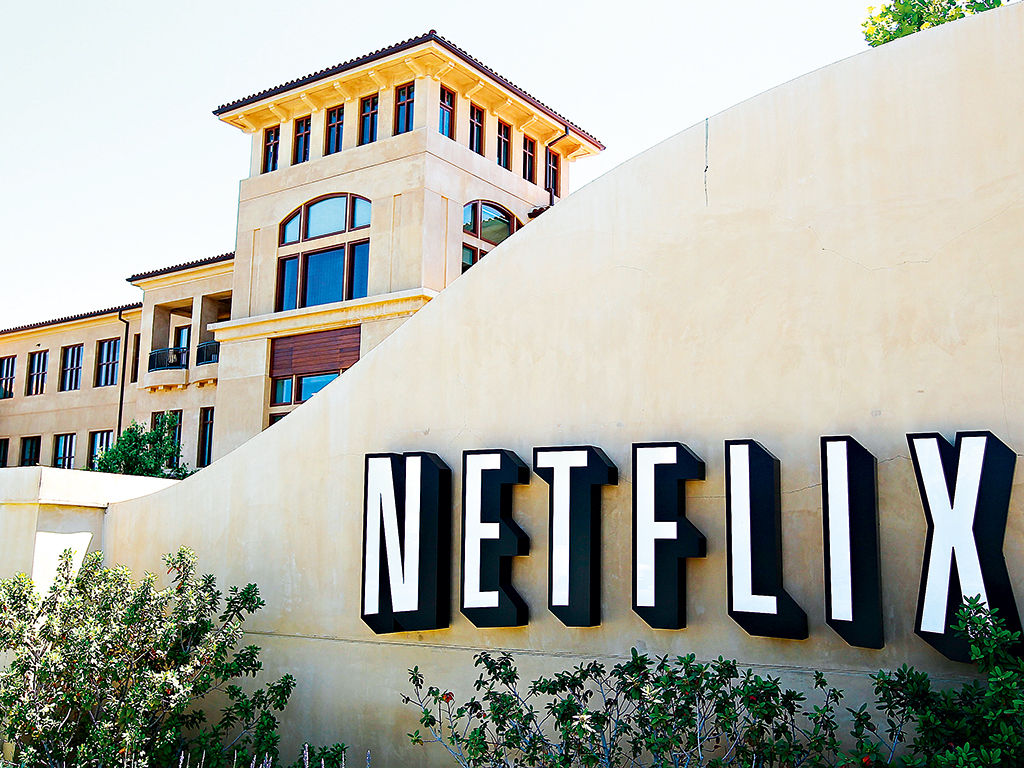The headquarters of Netflix in Los Gatos, California. Netflix introduced an unlimited employee holiday scheme similar to Virgin's back in 2004
