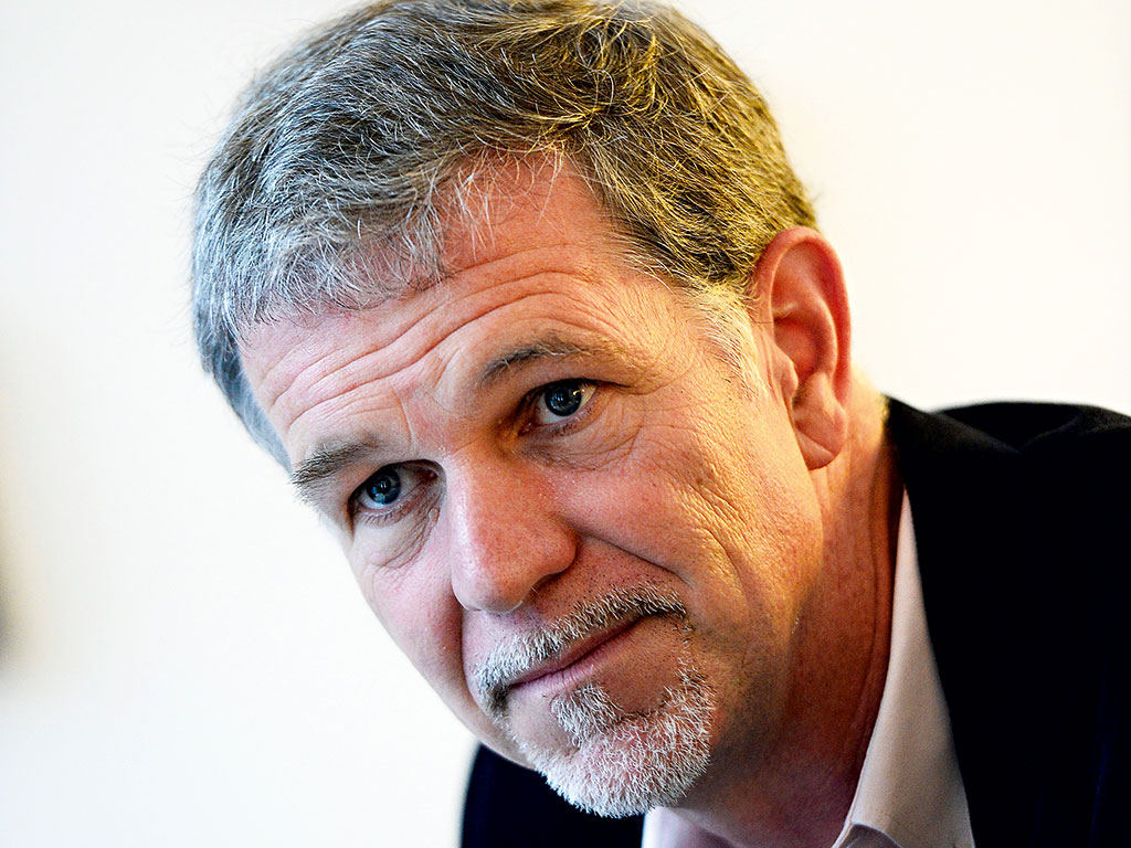 Netflix co-founder and CEO Reed Hasting