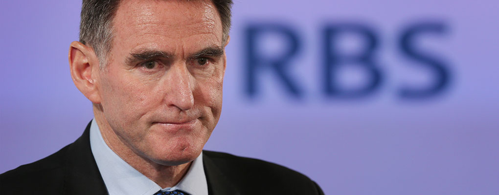 Ross McEwan, Chief Executive of RBS, has taken on a series of cost-cutting initiatives to improve the bank's profitability, following a £8.2bn loss in 2013