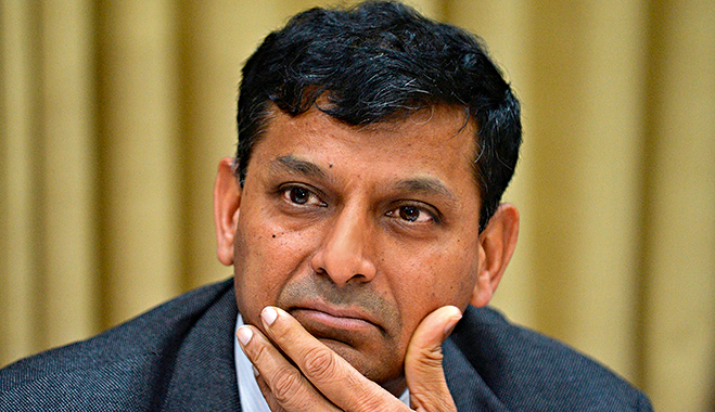 Governor of the Reserve Bank of India, Raghuram Rajan, who said that India's banking sector is on a cusp of revolutionary change