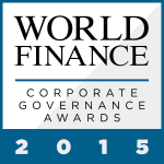 High standards are essential to maintain successful internal structures at a corporate level. Here, World Finance celebrates those companies performing at the top of their corporate governance game