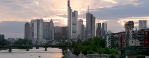 Frankfurt, Germany. The city has opened its doors to Kuveyt Turk Bank, a sharia-compliant institution. The bank will follow Islamic finance principles, such as not charging interest on loans, and remains open to non-Muslims