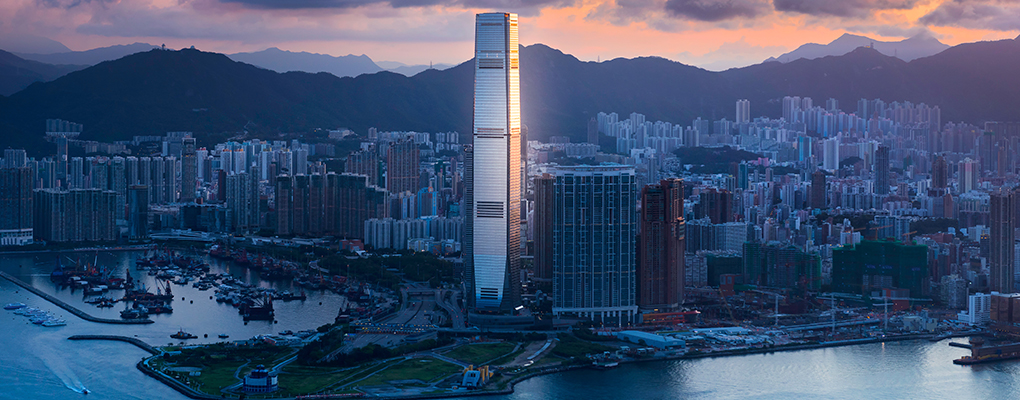 The Sky100 tower, Hong Kong. The city is set to get even richer thanks to an increasingly in-demand currency. But this could cause a certain amount of social unrest, as many of Hong Kong's citizens detest its levels of economic inequality