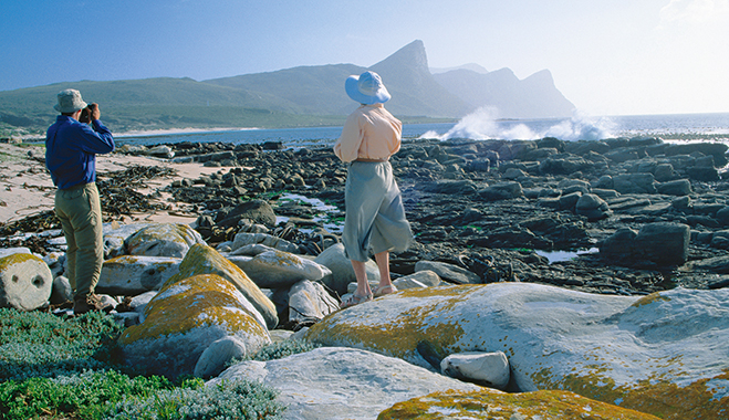 A retired couple at Cape Peninsula, South Africa. The country's retirement industry is worth an estimated ZAR 2.74bn