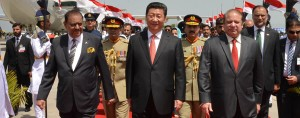 President Xi Jinping meets with Pakistani leaders. Both parties hope a new pipeline connecting the countries will enhance their relations and future economic opportunities