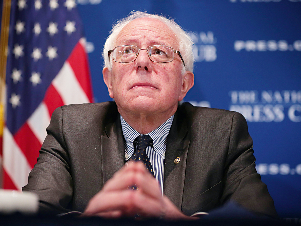 Bernie Sanders, an independent US senator, is against pay inequality