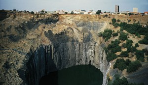 The Big Hole, diamond mine in Kimberley
