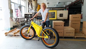 Storm Sondors, creator of the Sondors eBike. The company launched its quest for capital on IndieGoGo, raising $4m