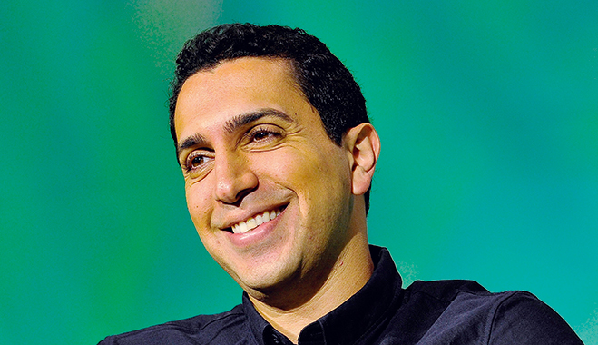 Sean Rad, CEO of Tinder. The company is a prime example of a freemium model, having originally offered its product for free, only to price additional services later