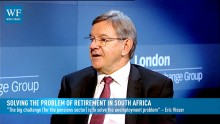 People argue, 'Why should I make provision for retirement, but before I get to retirement I might starve of hunger?' says Sentinel Retirement Fund's Eric Visser
