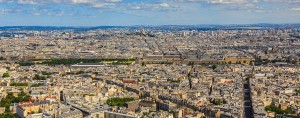 The financial district in Paris, France. The country's fortunes are set to improve thanks to the growth of the private sector