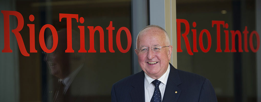 Rio Tinto's CEO Sam Walsh. The company has recently pulled out of a proposed expansion of an Australian uranium mine in a blow to the nuclear industry