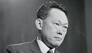 46-year-old Lee Kuan Yew, the recently deceased leader of Singapore. Yew is credited with transforming what was a flagging country into one of the world's biggest economic powerhouses