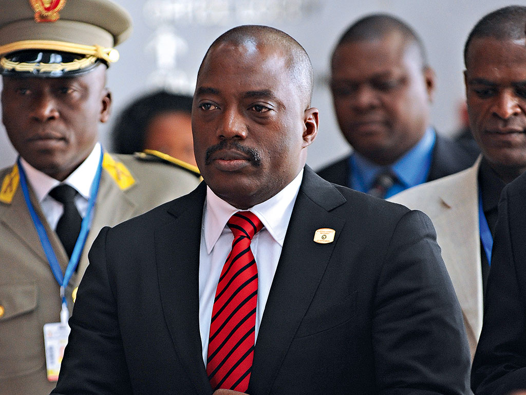 Democratic Republic of Congo's President Joseph Kabila