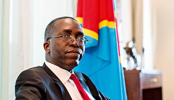 The DRC's Prime Minister, Augustin Matata Ponyo Mapon