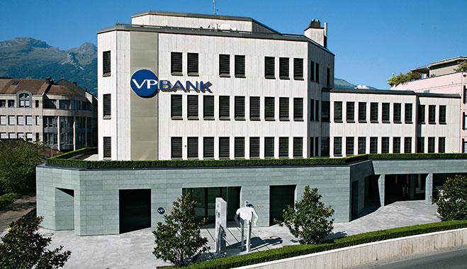 VP Bank's headquarters in Vaduz, Liechtenstein. IFOS is a subsidiary of the bank