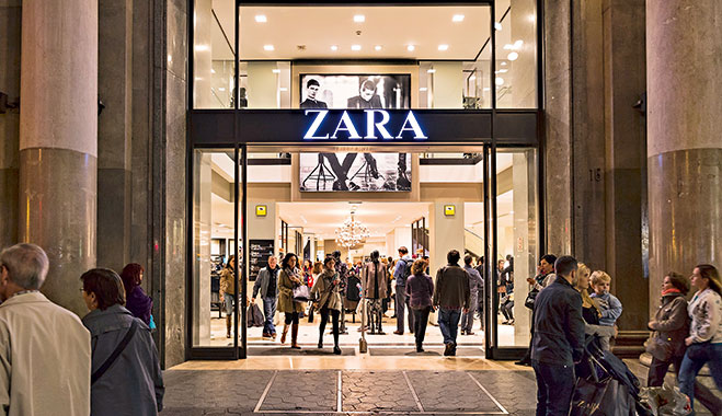 Zara's fast and responsive supply chain, as well as dependence on local manufacturing, gives it the edge over other retailers