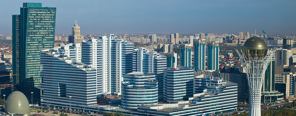 The Bayterek Tower in Kazakhstan. The country has failed the first round of the OECD's assessment for tax transparency
